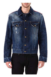 MCQ ALEXANDER MCQUEEN Repaired denim jacket