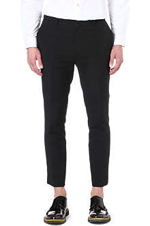 MCQ ALEXANDER MCQUEEN Seamed tapered trousers