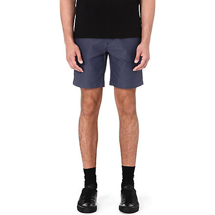 SATURDAYS SURF NYC Marled twill shorts (Navy