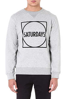 SATURDAYS SURF NYC Logo-print sweatshirt