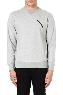 SATURDAYS SURF NYC Bowery chest slash sweatshirt