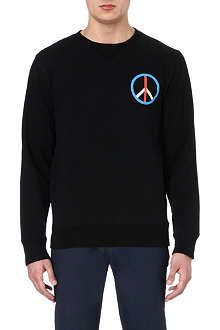 SATURDAYS SURF NYC Peace cotton sweatshirt