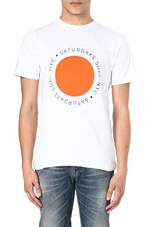 SATURDAYS SURF NYC Circle Wrap t-shirt