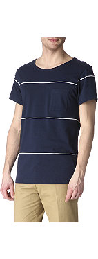 SATURDAYS SURF NYC Collett Line YD regular-fit striped t-shirt