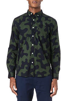 SATURDAYS SURF NYC Crosby camouflage shirt