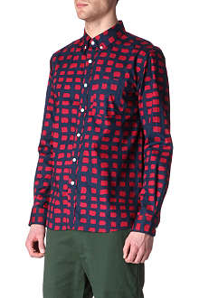 SATURDAYS SURF NYC Crosby printed slim-fit shirt