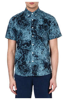 SATURDAYS SURF NYC Esquina printed shirt