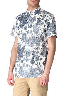 SATURDAYS SURF NYC Esquina floral-print shirt