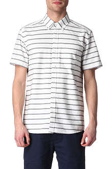 SATURDAYS SURF NYC Esquina slim-fit striped Oxford shirt