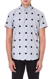 SATURDAYS SURF NYC Esquina polka-dot shirt