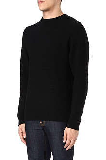 SATURDAYS SURF NYC Everyday horizontal ribbed jumper