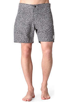 SATURDAYS SURF NYC Notebook-print swimming shorts
