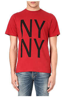 SATURDAYS SURF NYC NY NY print t-shirt