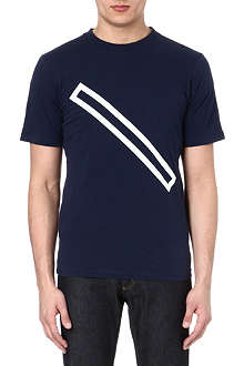 SATURDAYS SURF NYC Outline Slash t-shirt