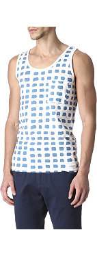 SATURDAYS SURF NYC Rosen paint-print vest