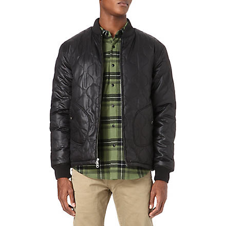 SATURDAYS SURF NYC Samuel quilted jacket (Black
