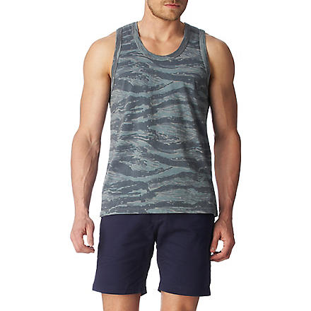 WARRIORS OF RADNESS Camouflage vest (Grey