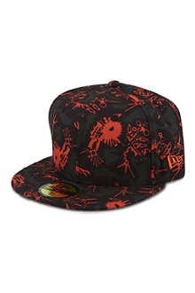 KENZO Monster print cap