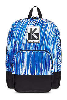 KENZO Wave print backpack