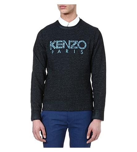 KENZO Logo sweatshirt (Black