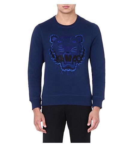 KENZO Tiger sweatshirt (Navy