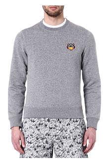 KENZO Tiger logo badge sweatshirt
