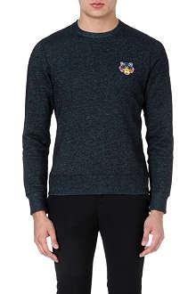 KENZO Tiger badge sweatshirt