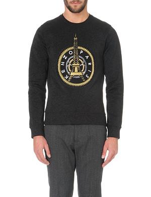KENZO Eiffel Tower jersey sweatshirt