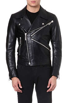 KENZO Biker leather jacket