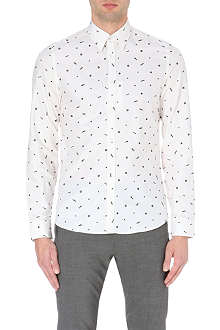 KENZO Nuts and bolts cotton shirt