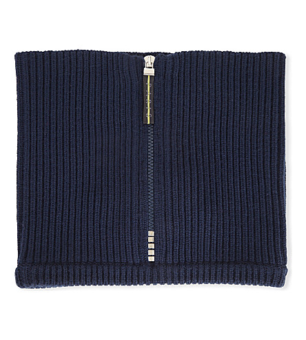 KENZO Knitted neck collar (Navy