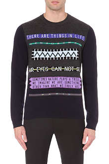 KENZO Our Eyes Cannot See knitted jumper