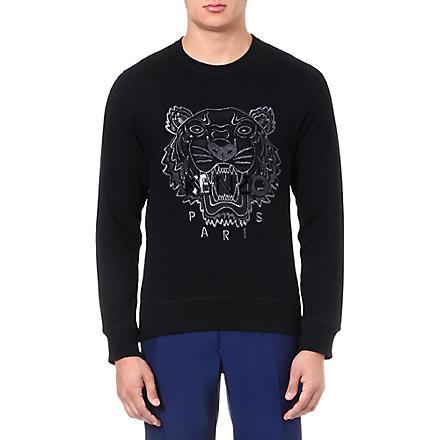 KENZO Tiger sweatshirt (Black
