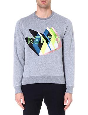 KENZO Monster logo sweatshirt