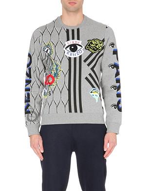 KENZO Applique sweatshirt