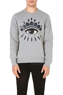 KENZO Eye-embroidered sweatshirt