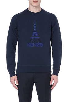 KENZO Embroidered Eiffel Tower sweatshirt