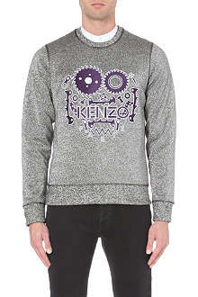 KENZO Metallic embroidered sweatshirt