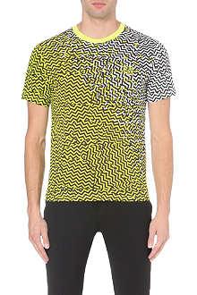 KENZO Zig-zag t-shirt