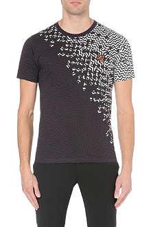 KENZO Diagonal zig-zag t-shirt