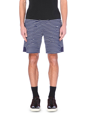 KENZO Stripe and spot-printed shorts