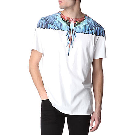 MARCELO BURLON Free graphic-print t-shirt (White