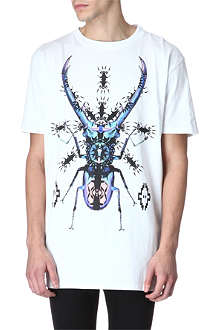 MARCELO BURLON Edward graphic print t-shirt