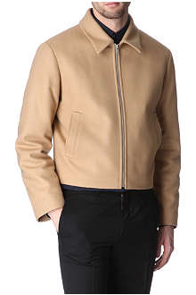 HUNTER GATHER Melton wool golf jacket