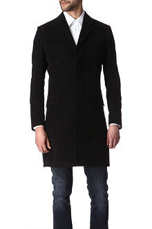 HUNTER GATHER Single-breasted concealed-fastening coat