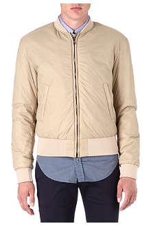 HUNTER GATHER Nylon bomber jacket