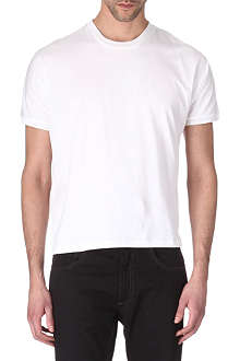 HUNTER GATHER Crew-neck jersey t-shirt