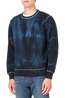 HUNTER GATHER Tie-dye sweatshirt