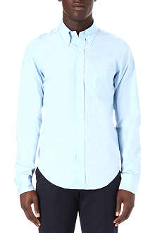 HUNTER GATHER Slim-fit single-cuff poplin shirt