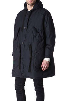 HUNTER GATHER Oversized goose-filled parka
